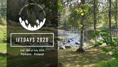 Kuva International forest therapy days 2020