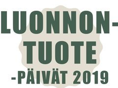 Luonnontuotepäivät 5.-7.11.2019 Kajaanissa